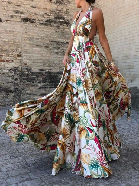 Photo de robe longue