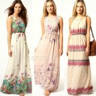 Robes longues hippie chic