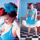 Robe pin up femme ronde