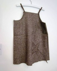 Robe chasuble sans manches